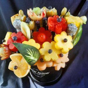 זר פירות זוגי